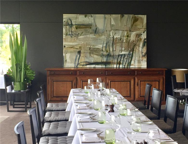 Commissioned painting for Dining Room